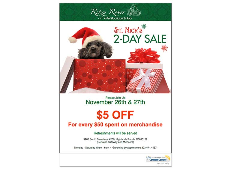 Ritzy Rover Constant Contact Email Marketing