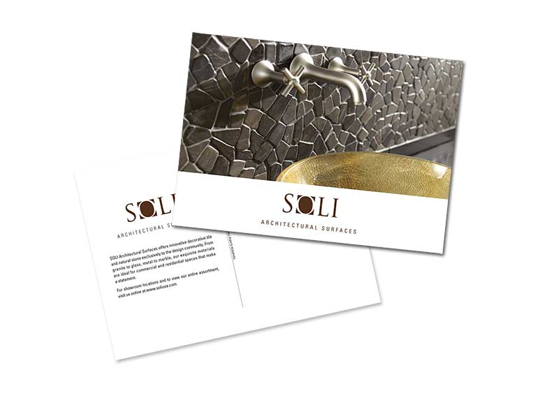SOLI Architectural Surfaces Postcard