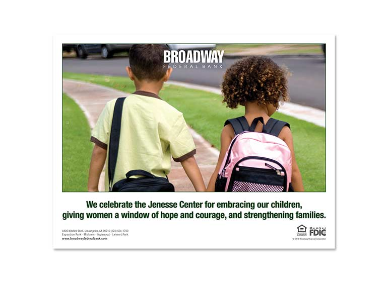 Broadway Federal Bank Ad