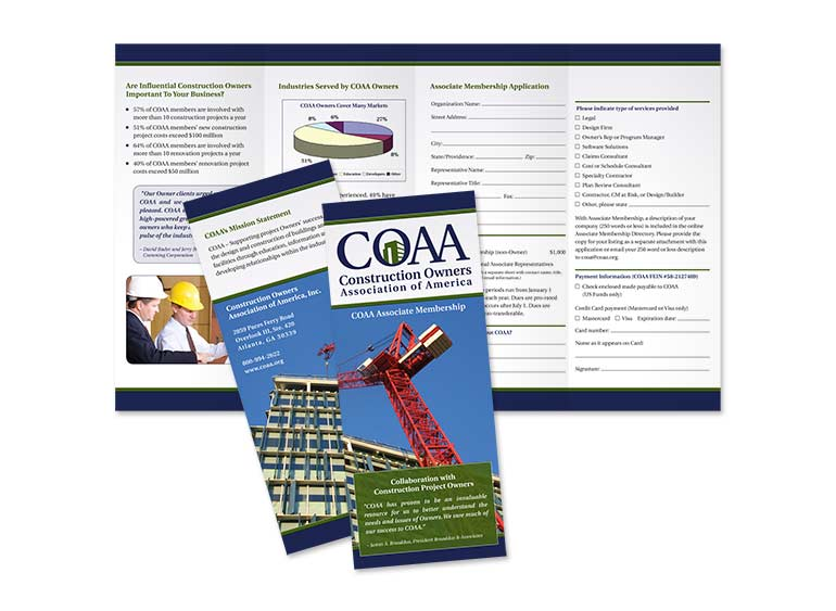 Construction Owners Association of America Brochure